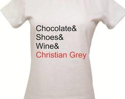 Camiseta Cinquenta tons de Cinza