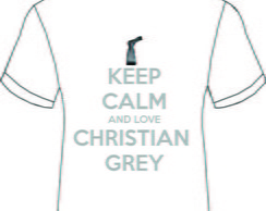 Camiseta 50 tons de cinza