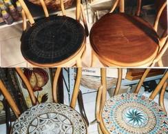 cadeiras antigas recicladas