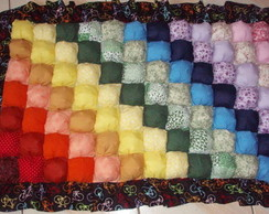 Tapete em patchwork bubles