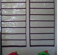 Painel para nomes dos alunos