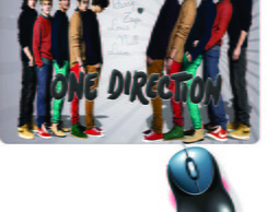 Mouse Pad One Direction