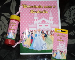 Kit Divers�o princesas e principes