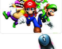 Mouse Pad Mario Bros