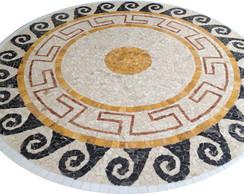 Mesa mosaico de m�rmore