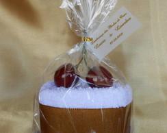 Cupcake de Toalha - Lembrancinha