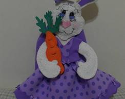 Coelha Porta Ovo de P�scoa