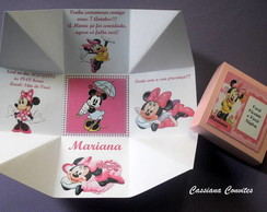 Convite da Minnie Rosa