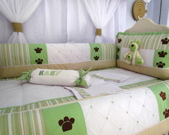 KIT BER�O 08 PE�AS URSO TEDDY VERDE