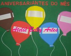 ANIVERSARIANTE DO M�S