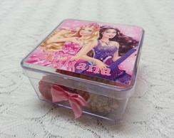 Caixinha De Acr�lico Barbie
