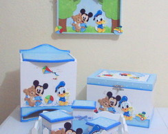 Kit Bebe Baby Mickey E Donald 2