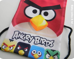 Mochilinha Lembran�a Angry Birds
