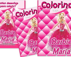 Revistinha de colorir Barbie