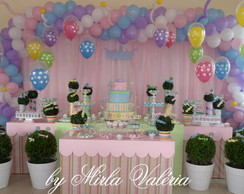 Loca��o Mesa Decorada Princesas Clean