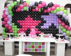 Loca��o Mesa Decorada Rebeldes