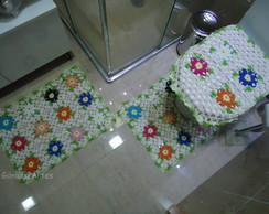 Jogo de banheiro - Colorido BNH 042