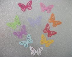 300 Borboletas Scrapbook - Coloridas