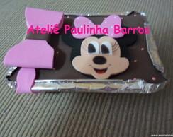 Marmitinha Personalizada Minnie Rosa