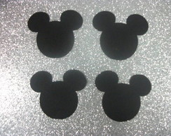 100  Enfeites Do Mickey  - 4cm