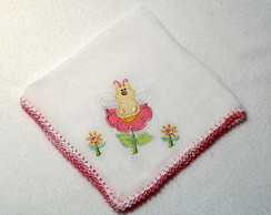 Babita Bordada - Abelhinha (rosa)
