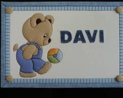 Quadro Porta de Maternidade DAVI