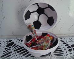Porta Doces Bola de Futebol