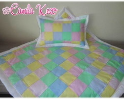 Manta Do Beb� Em Patchwork