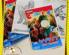 Revista Personalizada Homem Aranha