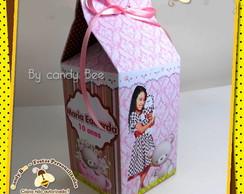 Caixa Milk Ursas Marrom E Rosa