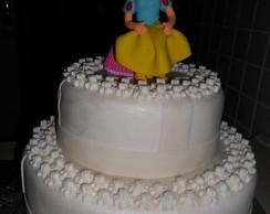 bolo da branca de neve