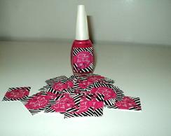 Adesivo para Esmalte Ch� de Panela Pink