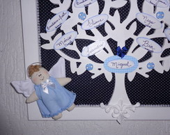 �rvore Geneal�gica Clean Anjinho Azul