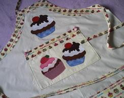 Avental Cupcakes