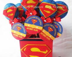 Kit Ponteiras Super Homem