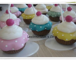 Cupcake porta foto