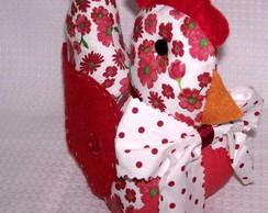 Peso de porta galinha florisbela