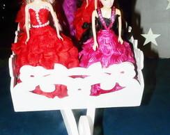 Boneca com vestido personalizado