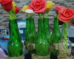 Centro de mesa Rosas De Biscuit
