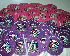 Totem / Topper Para Cupcake Monster High