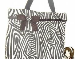 Bolsa Grande Zebra