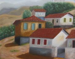 Vila em Ouro Preto - tela 50 x 60