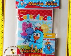 Kit Colorir Galinha Pintadinha