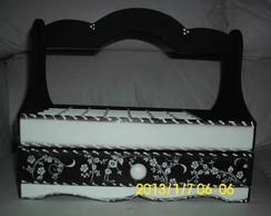 cesta porta esmaltes