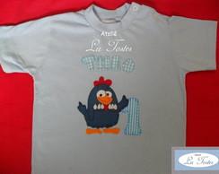 Camisa Galinha Pintadinha (modelo 5)