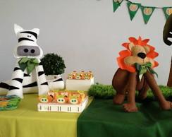 Decora��o De Festa Infantil  Selva