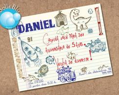 Convite Digital Festa na Escola Creche