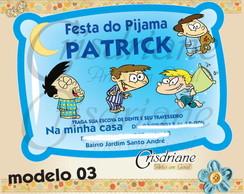 Festa Do Pijama Meninos peraltas