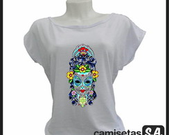 T-shirt Caveira Mexicana Woman