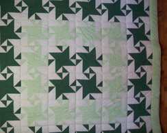 colcha patchwork star